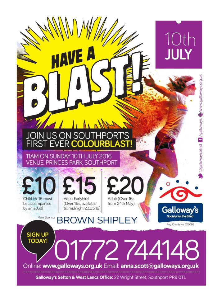 Colour Blast Southport