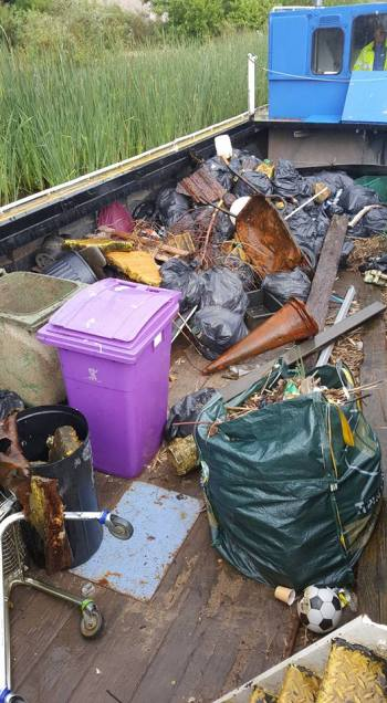 Canal Rubbish