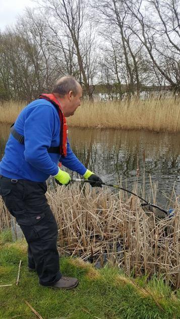 Canal Volunteer