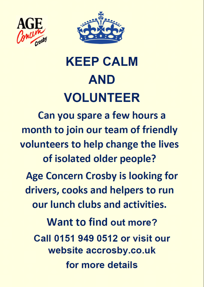 Age Concern Crosby new flyer 2019